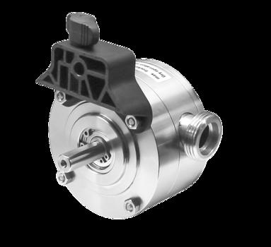 Werkstoff Buchse Edelstahl 1.4404 für Impellerpumpen Typ A Impeller EPDM