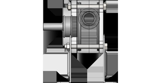 30l//min N with mounting Impeller Pump zuwa Unistar 2001-a