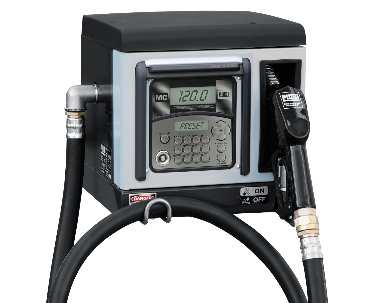 Electronic Counter With Integrated Tank Data Management System Zuwa Small Fuel Tanks For Filters Dispenser 70 Mc120 230 V