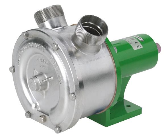 Side channel Centrifugal pumps - Stainless steel: ZUWA Zumpe
