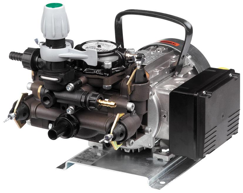 Diaphragm Pumps with Electric Motor | ZUWA-Zumpe GmbH